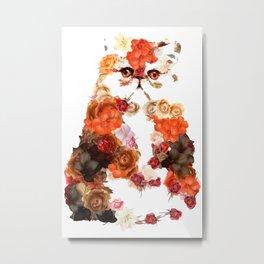 Portrait cute little kitten t-shirts Metal Print