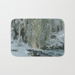 Wanderlust Wonder  - Nature Photography Bath Mat