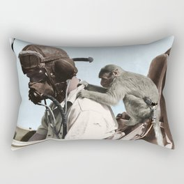 Colourised: North African Campaign Rectangular Pillow