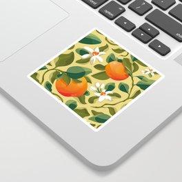 Summer Orange Sticker