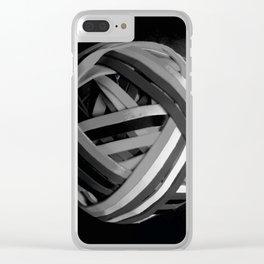 Blackballed Clear iPhone Case