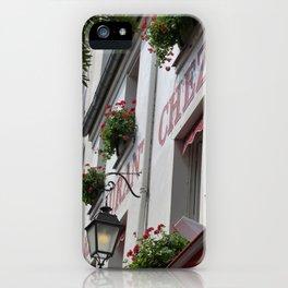 Chez Eugène Montmartre iPhone Case