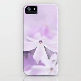 Purple Phlox iPhone Case