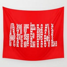 Arsenal 2018 - 2019 Wall Tapestry
