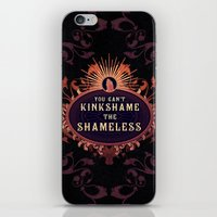 shameless iPhone & iPod Skins featuring the Shameless One by Larrydraws
