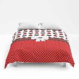 Ladybug and Hearts Comforters