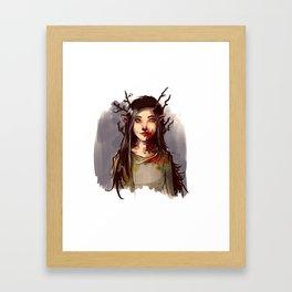 Skogsrå Framed Art Print