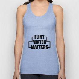 Flint water matters. Unisex Tank Top