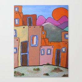 Adobe Sunrise Canvas Print