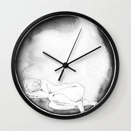 NAP not Coffee. K.Gilmartin Wall Clock