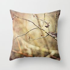 Wooded Throw Pillow