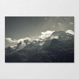 Frozen top Canvas Print