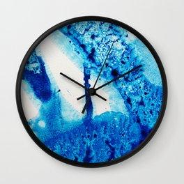 Into Indigo Wall Clock