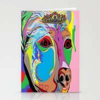 rottweiler Stationery Cards featuring Lady Rottweiler by EloiseArt
