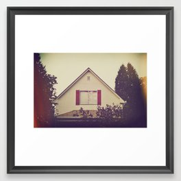 I Guess I'd Spoken Too Soon Framed Art Print