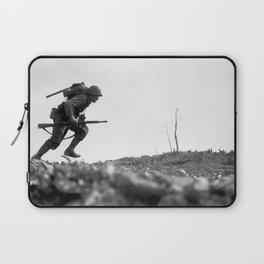 Battle Of Okinawa Painting Laptop Sleeve