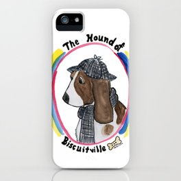 Hound of Biscuitville iPhone Case
