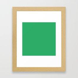 Island Green Framed Art Print