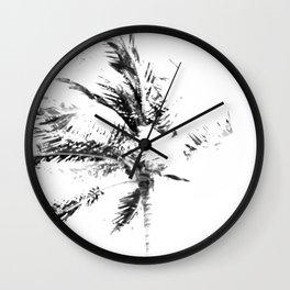 Palm Tree Sketch Wall Clock