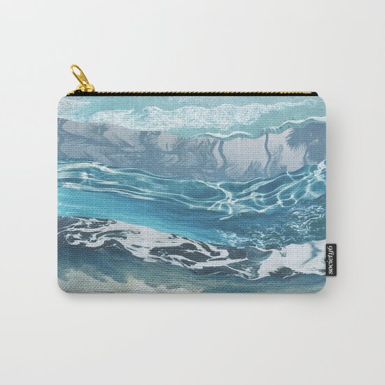 Sea abstract Carry-All Pouch
