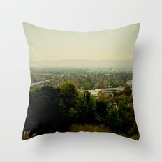 City Capture Throw Pillow