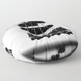 Bass Lines Floor Pillow