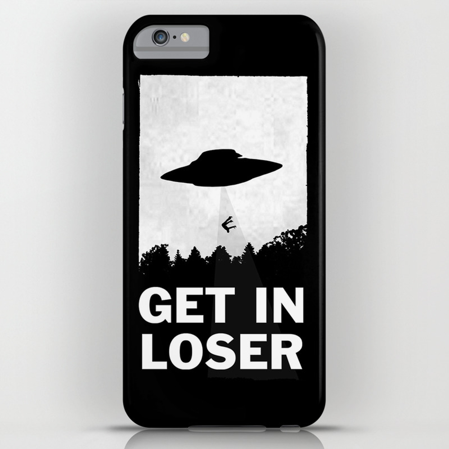purchase cheap 09908 41ab8 Get In Loser iPhone Case