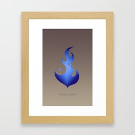 Forge Gaming Network - Forge Flame Dark 2014 Framed Art Print