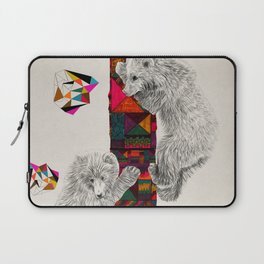 The Innocent Wilderness by Peter Striffolino and Kris Tate Laptop Sleeve