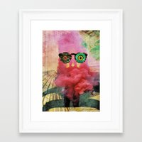 weird Framed Art Prints featuring weird by Monsieur Hubert