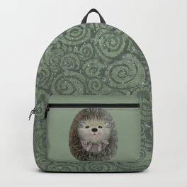 Cute Baby Hedgehog Backpack