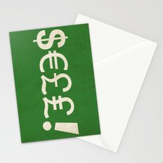 Subliminal Currency Stationery Cards