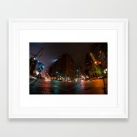 toronto Framed Art Prints featuring Toronto by Callan Convery Design