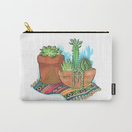 Cacti and Succulents Carry-All Pouch