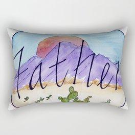 Father Rectangular Pillow