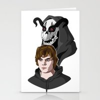 kris tate Stationery Cards featuring Tate Langdon by Cécile Appert