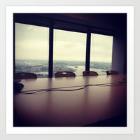 the office Art Prints featuring Office by dylangould