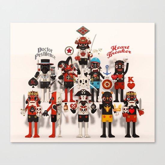 Pretender Collective Canvas Print
