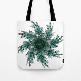 Fractal mandala Tote Bag