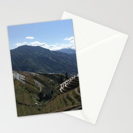 Rice Terraces Stationery Cards