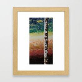 Confusion & Color Framed Art Print