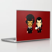 pulp Laptop & iPad Skins featuring pulp fiction by sEndro