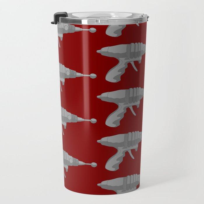Raygun Set To Stun Travel Mug