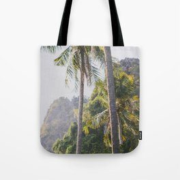 Palm Trees in Thailand Tote Bag