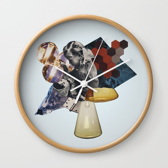 Everything we love is slowly becoming fiction Wall Clock