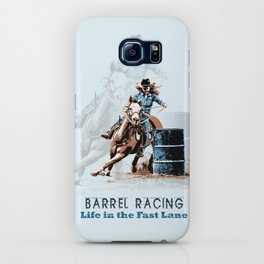 Barrel Racing - Life in the Fast Lane iPhone Case