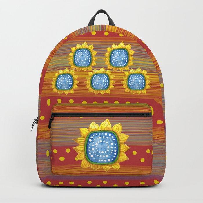 Sunny Flowers II Backpack