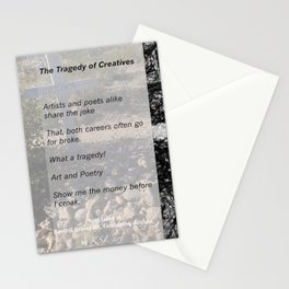 Tragedy of Creatives Stationery Cards