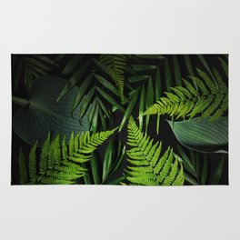 Leaves and branches Rug