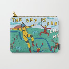 Skydive in the sky Carry-All Pouch